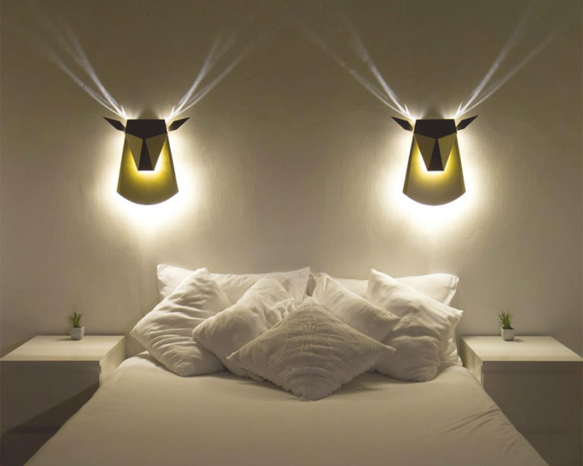 dark bedroom ceiling lighting