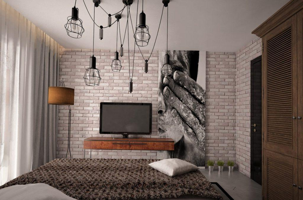 Rustic Bedroom Ceiling Light Decoration