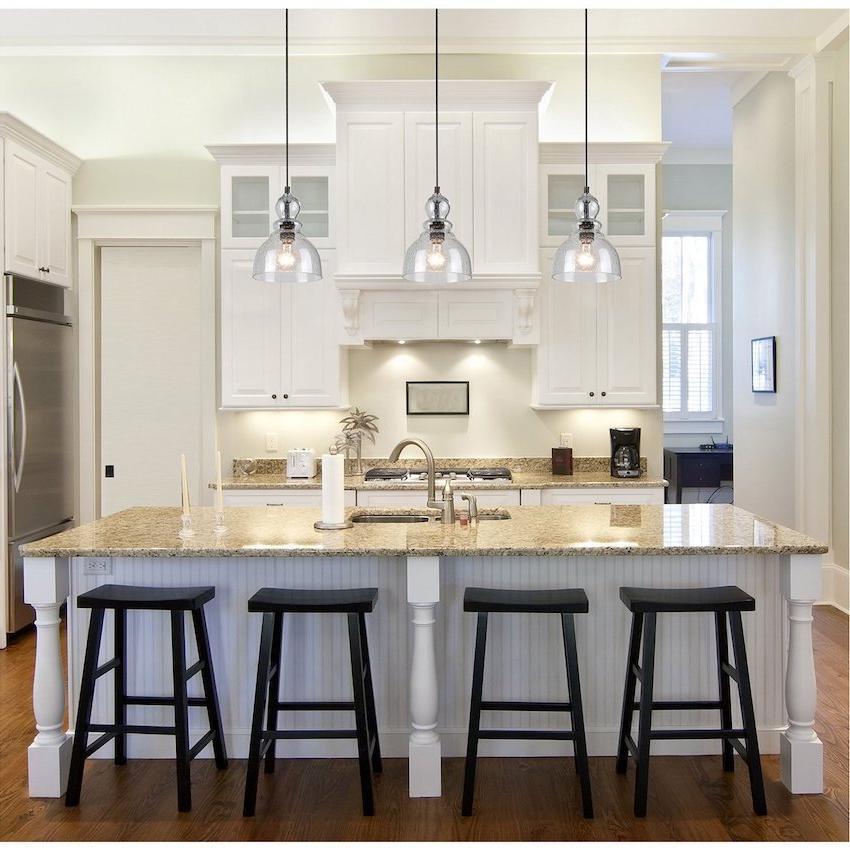 contemporary kitchen island lights