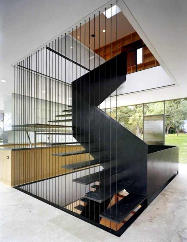 dark wood staircase ideas