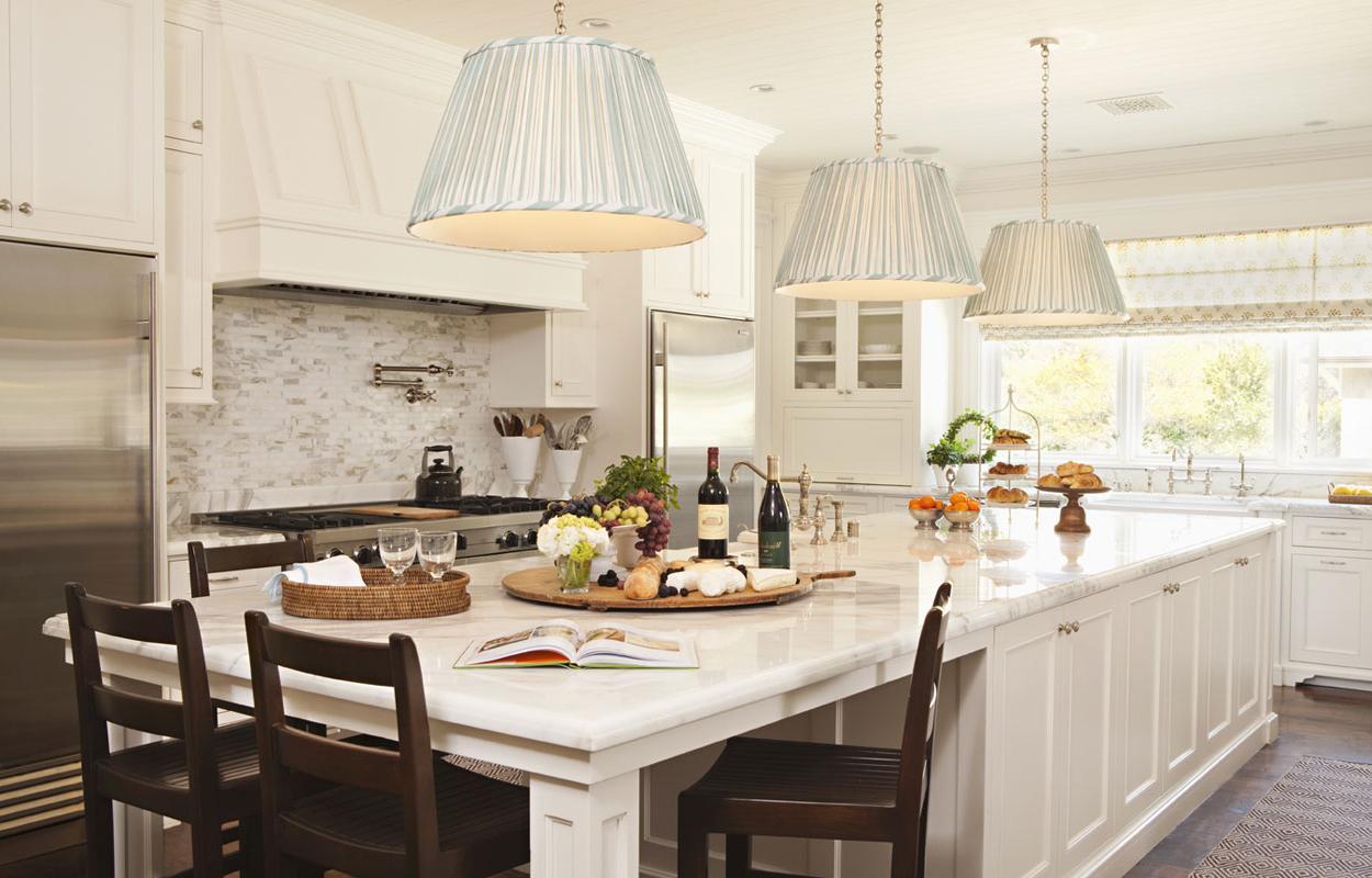 long kitchen island lights
