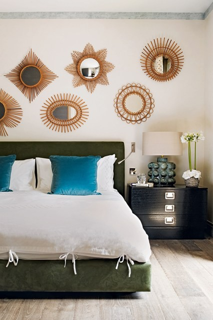 master bedroom ceiling mirror ideas