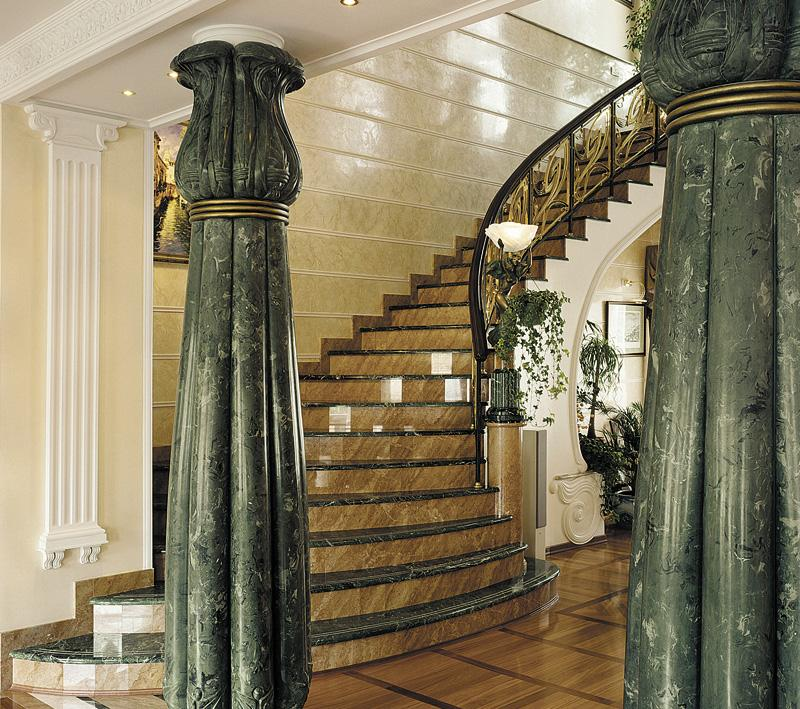 mid century staircase ideas