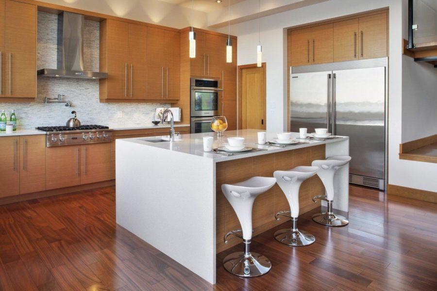 rectangular kitchen island lights