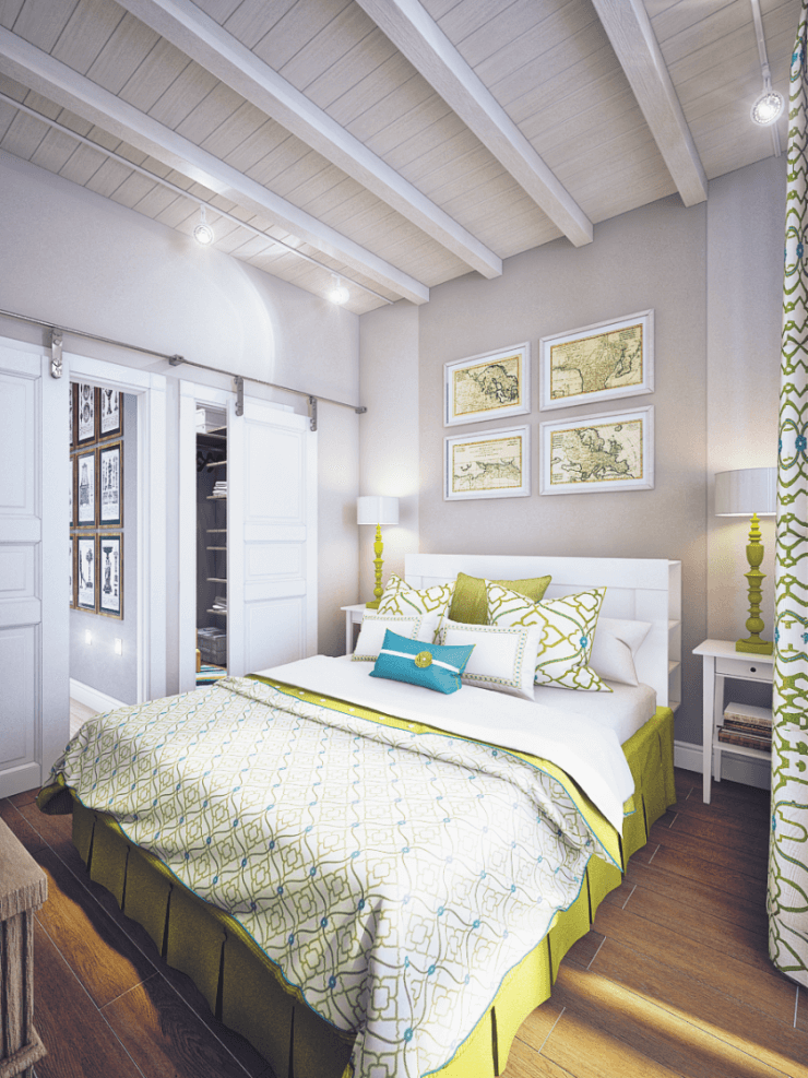stylish option for a small bedroom