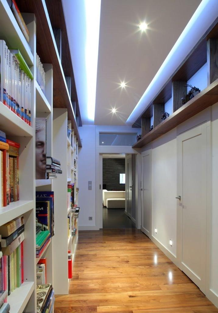 Two-level ceilings suitable for almost any room.