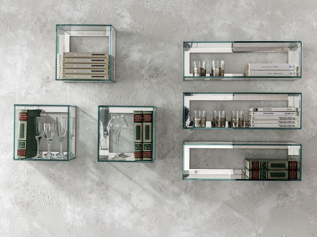 creative glass shelves