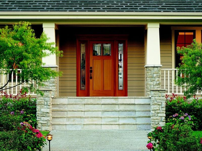 decorative front metal doors