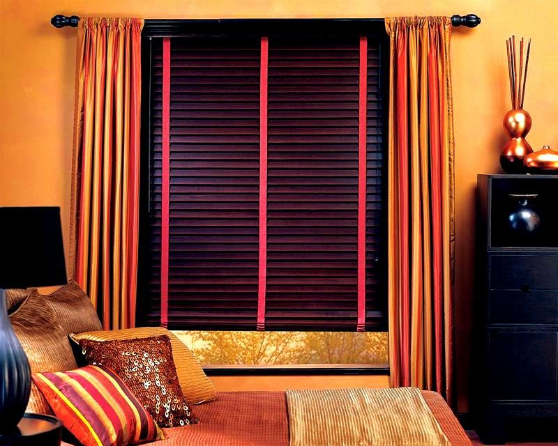 Cherry Wood Blinds