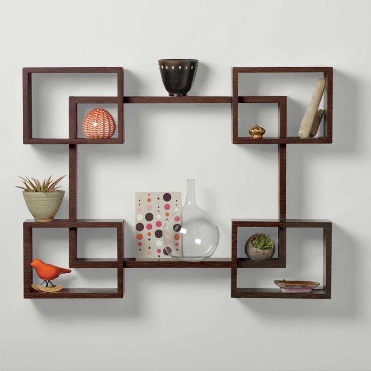 Inexpensive wall shelving