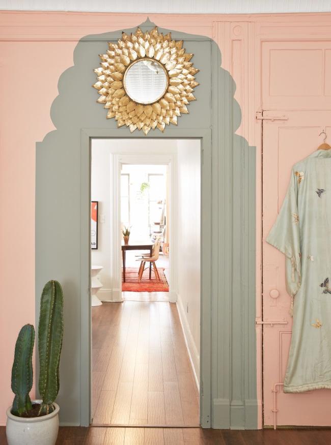 Moroccan doorway decor
