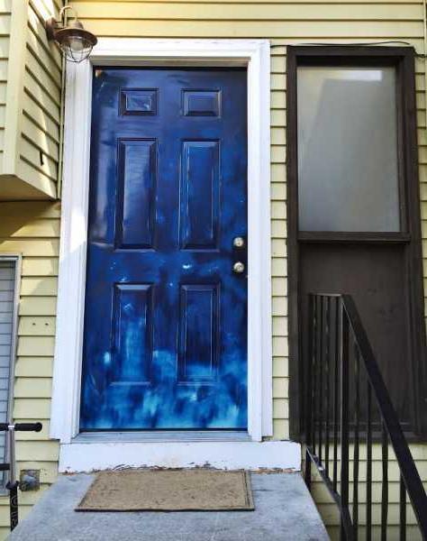 Romantic front door design