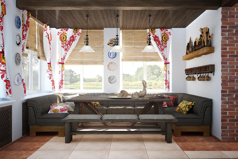 Rustic Style Modern Furniture