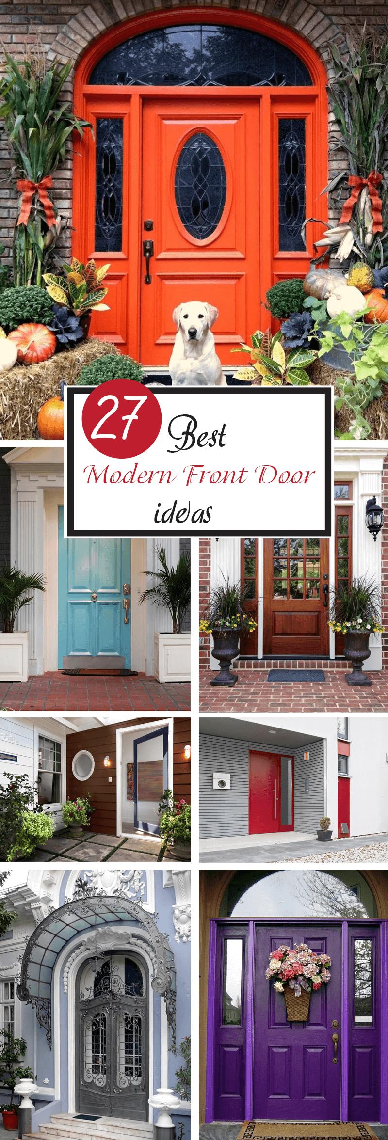 best modern front door ideas