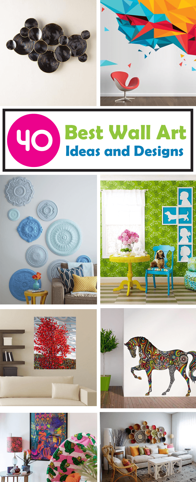 best wall are ideas and designs