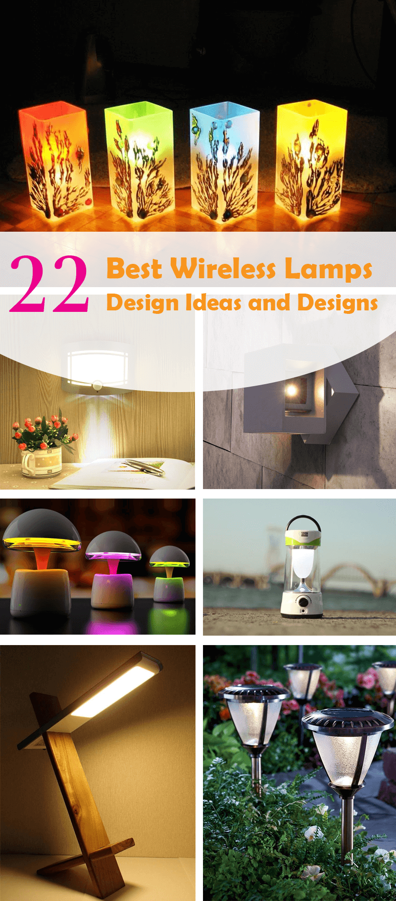 best wireless lamps ideas and designs