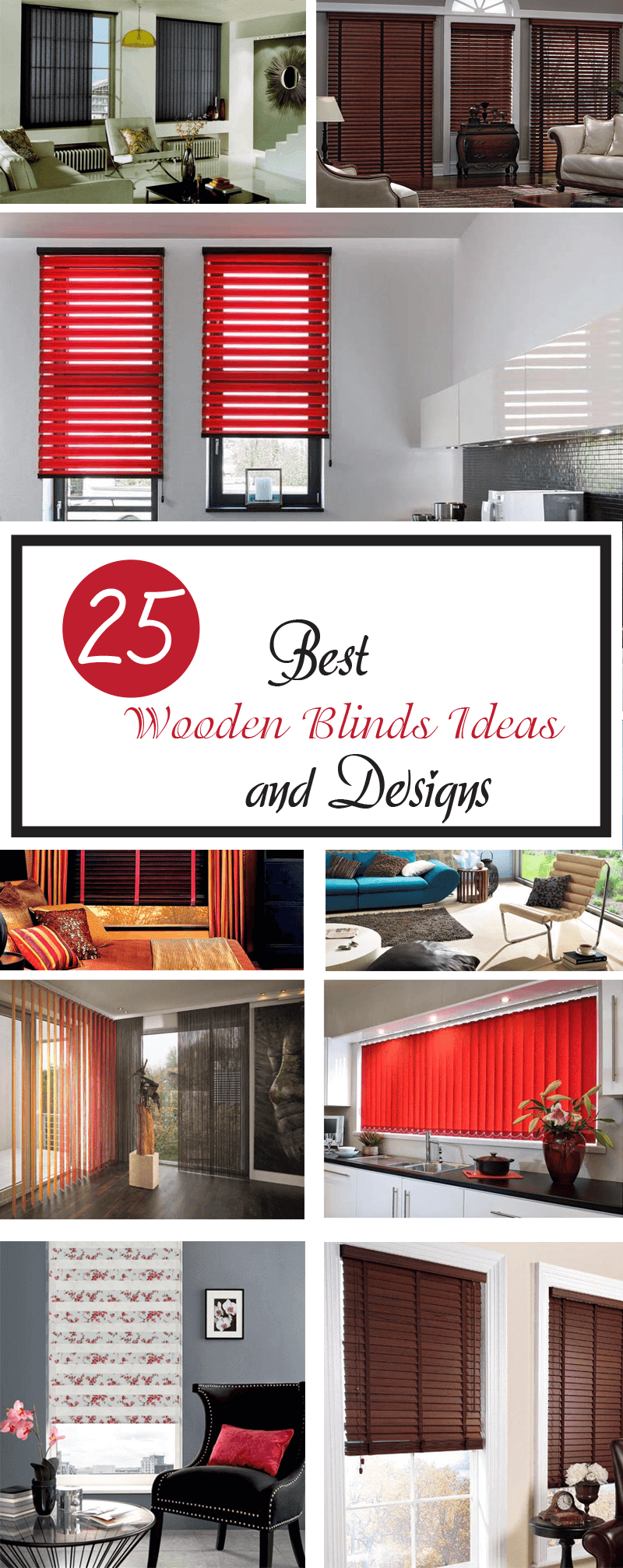 best wooden blinds ideas and designs