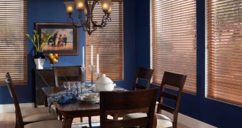 kitchen wooden blinds