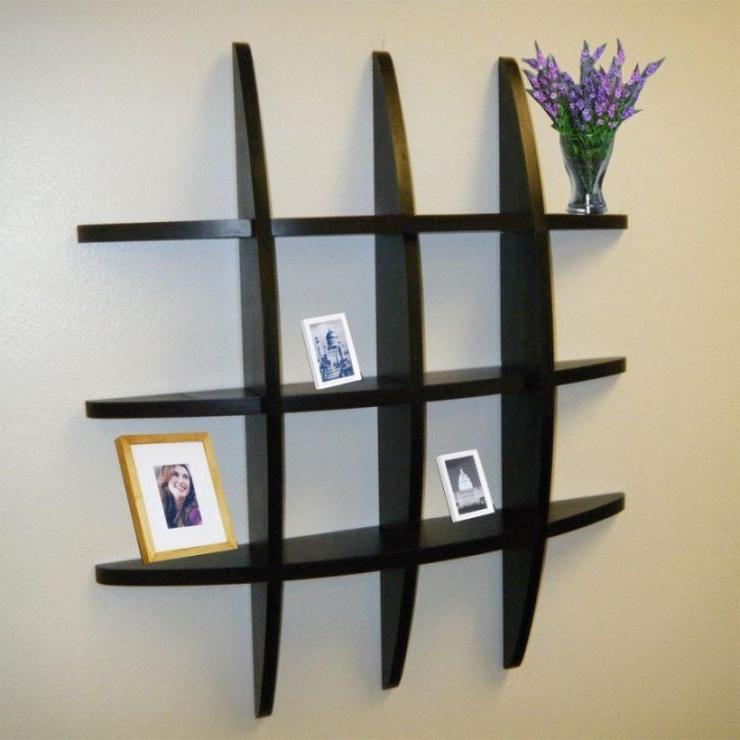 modern wall shelving ideas