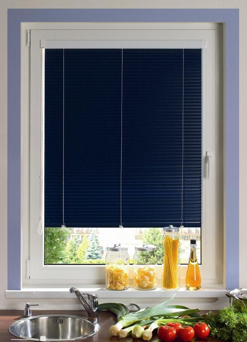 narrow wooden blinds