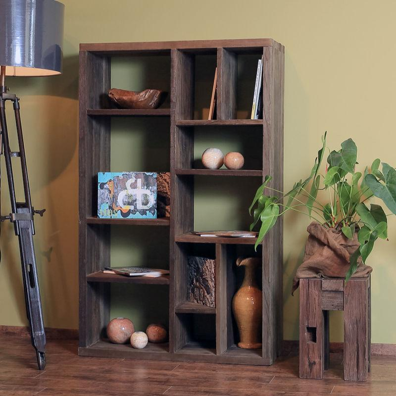 rustic wall shelving ideas for small spaces