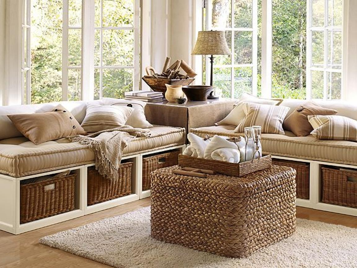rustic wicker furniture for living room