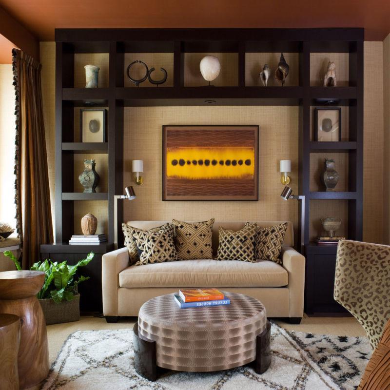 small living room wall shelving ideas