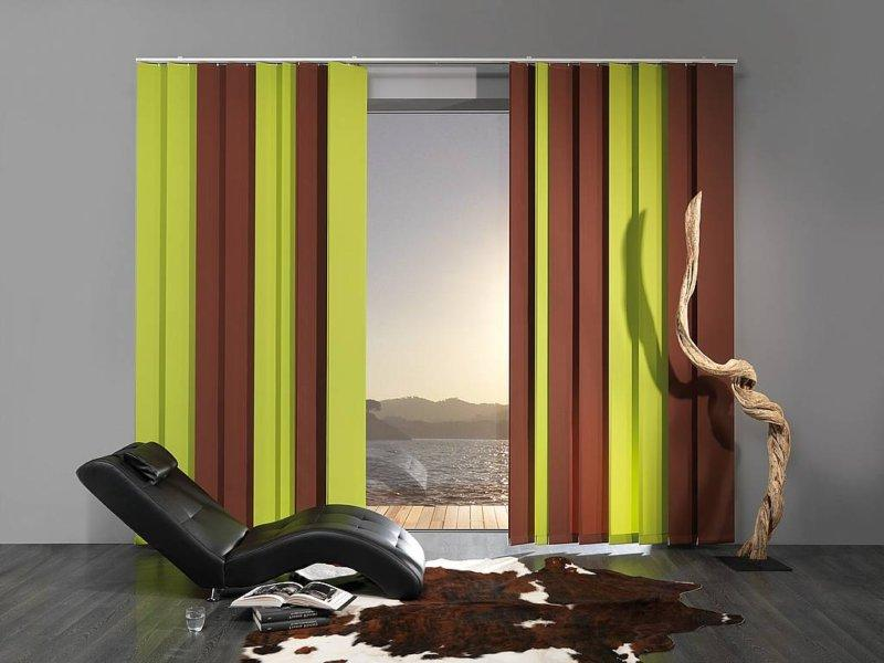 small modern wooden blinds