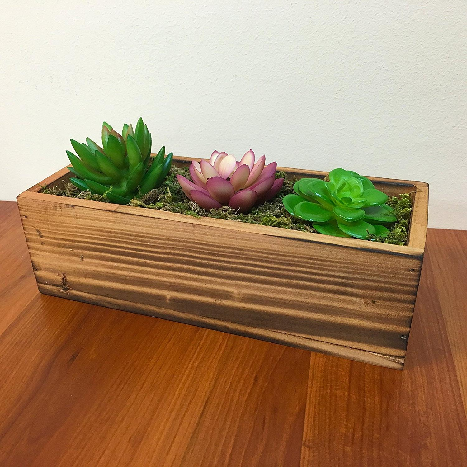 traditional wooden plant stands