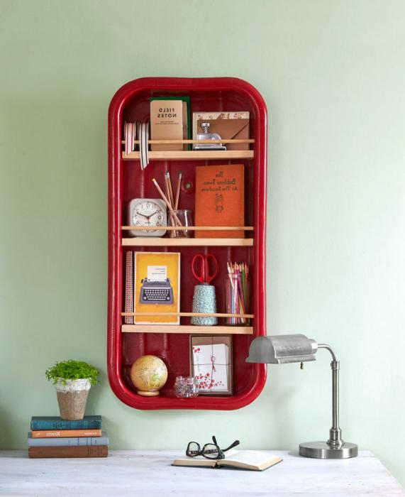 wall shelving designs for kids