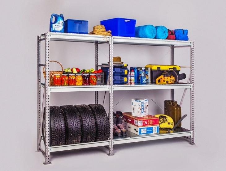 wall shelving ideas for garage