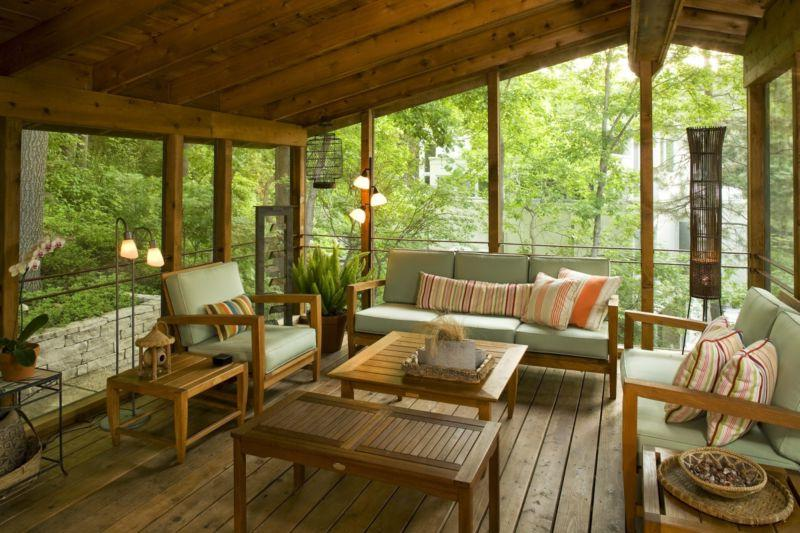 Covered Back Porch Designs
