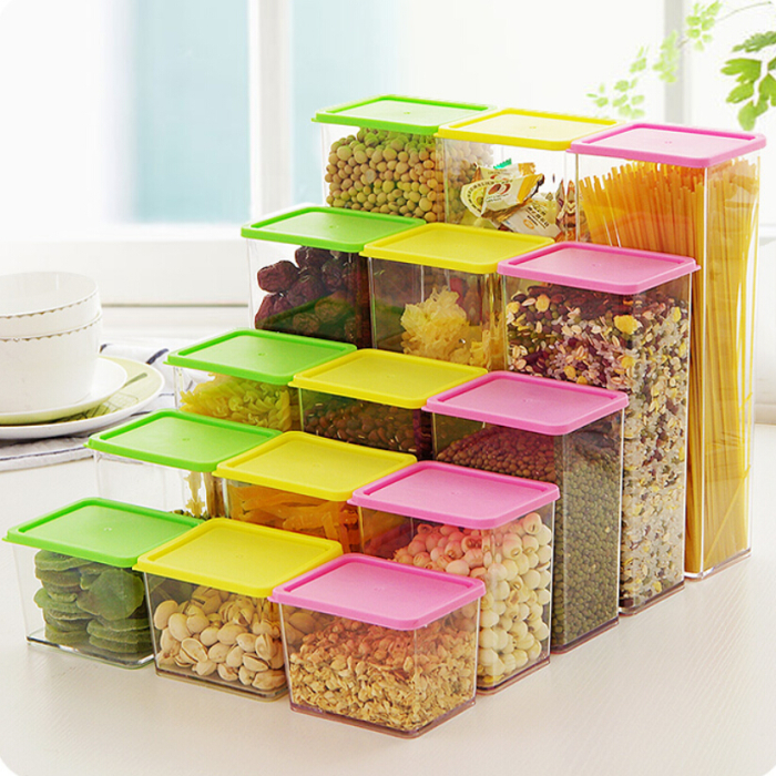 DIY small plastic storage designs