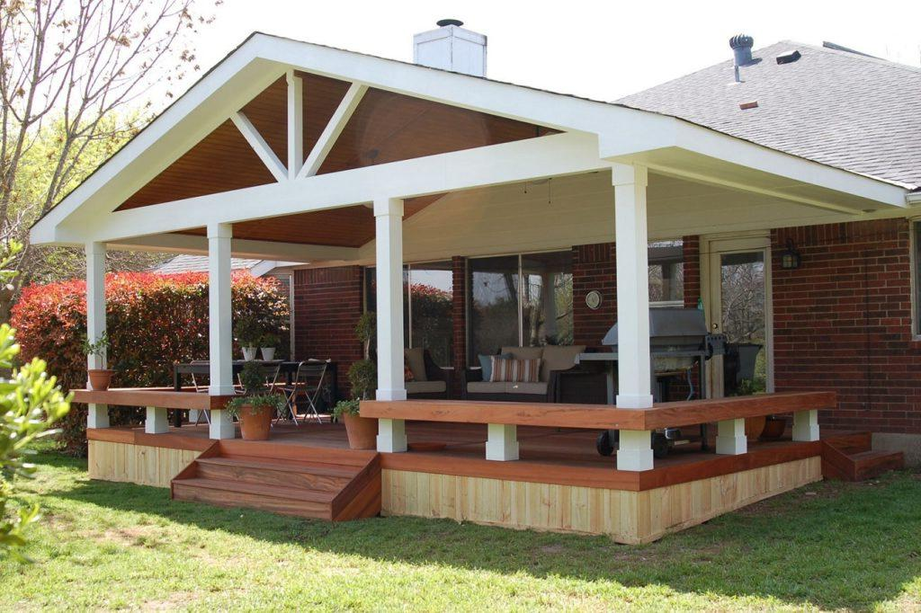 Elegant Back Porch Designs