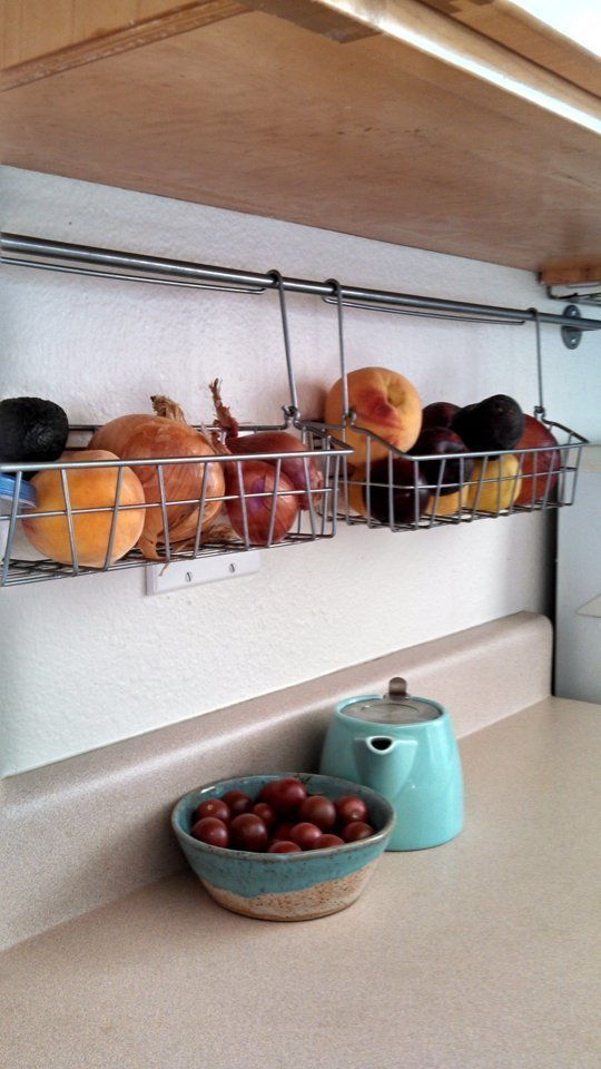 Inexpensive small kitchen storage ideas