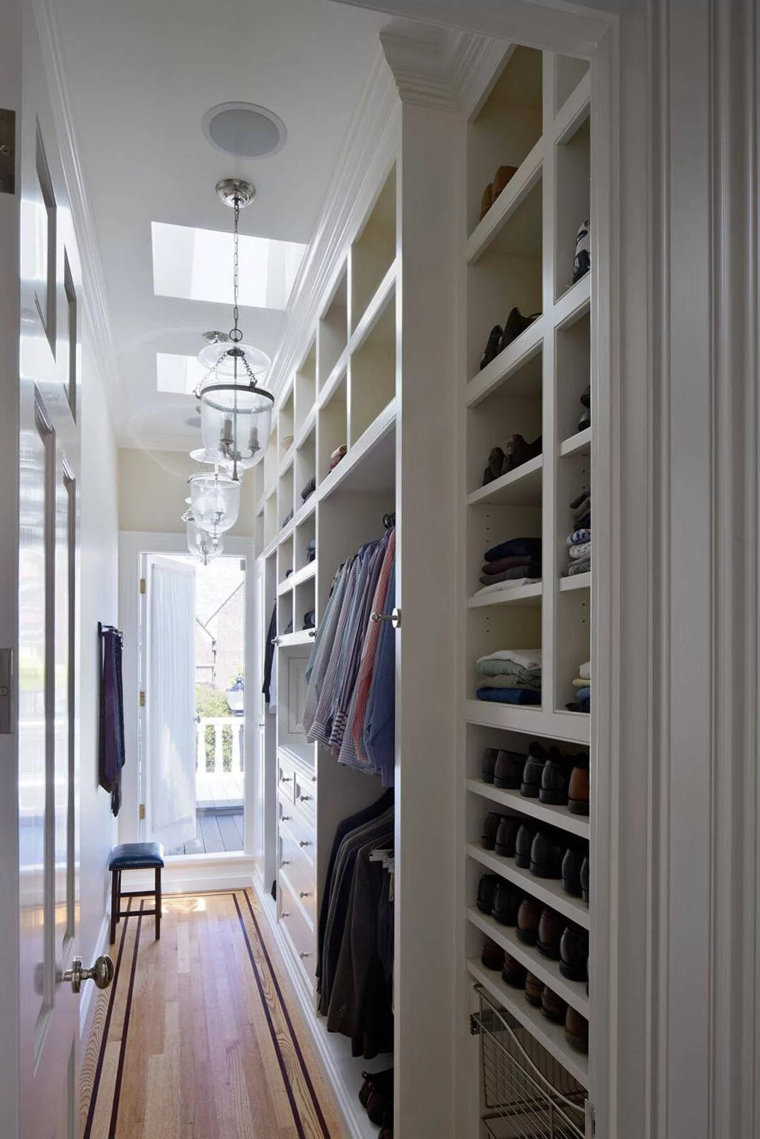 Narrow pantry design