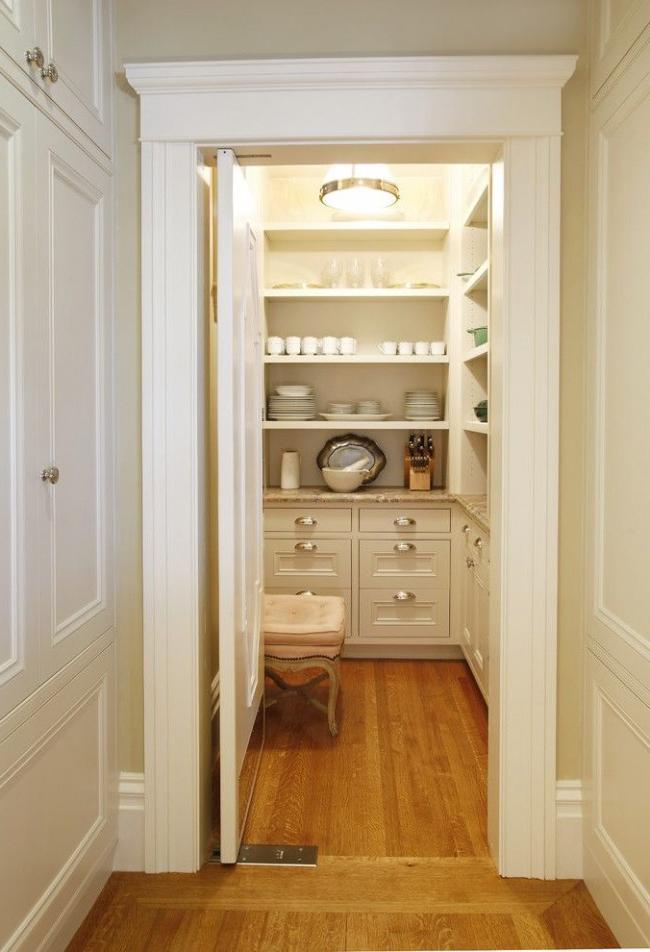 Small but very convenient storage room