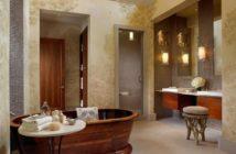 Stylish rustic bathroom vanities