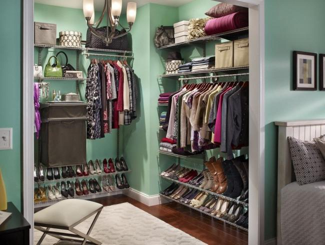Wardrobe, made in the same style as the bedroom