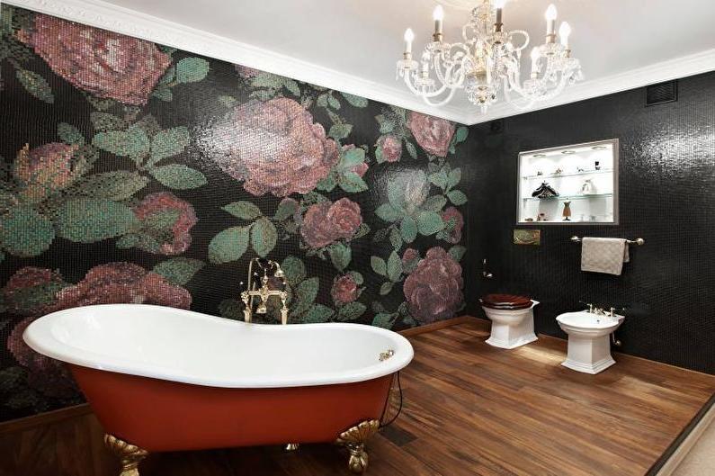 antique farmhouse bathroom vanity