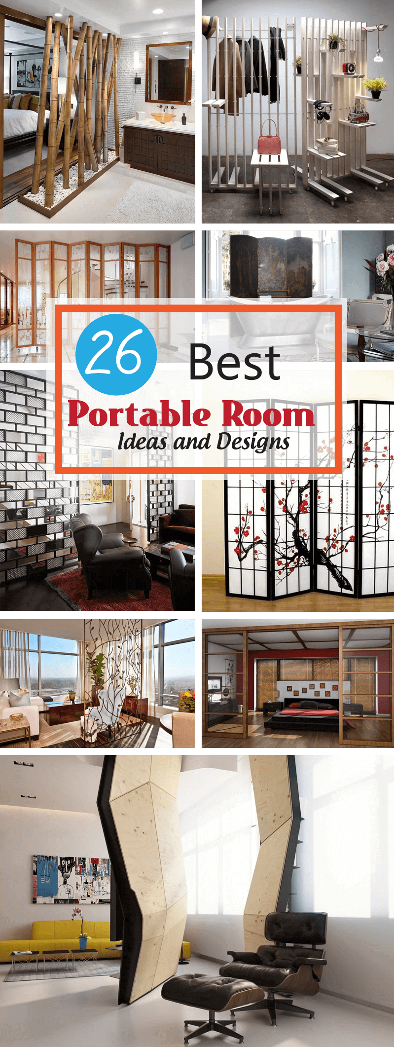 best portable room ideas and designs