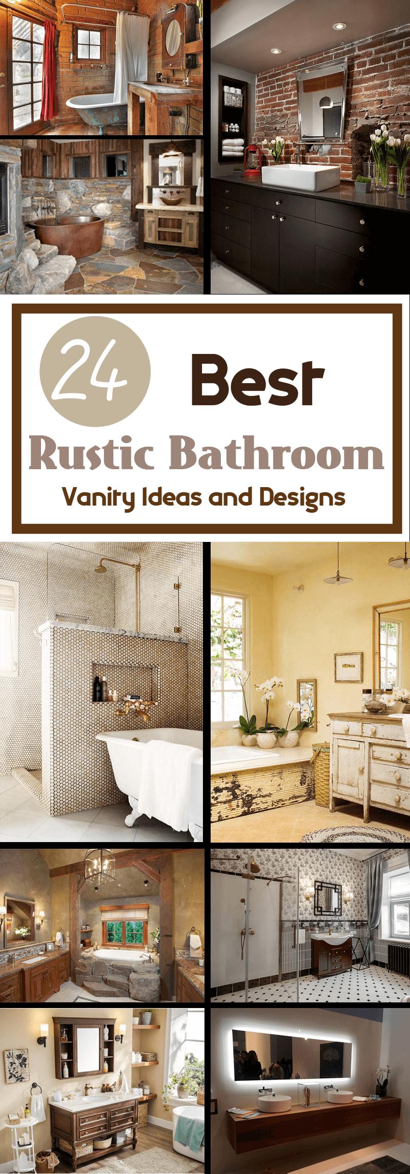 best rusticbathroomvanity ideas and designs