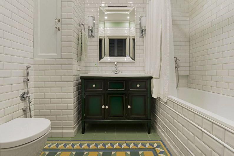black farmhouse bathroom vanity