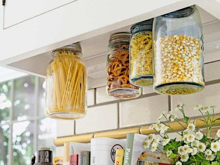 cheap diy kitchen storage