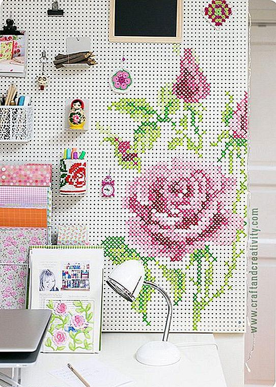 decorating ideas with pegboard