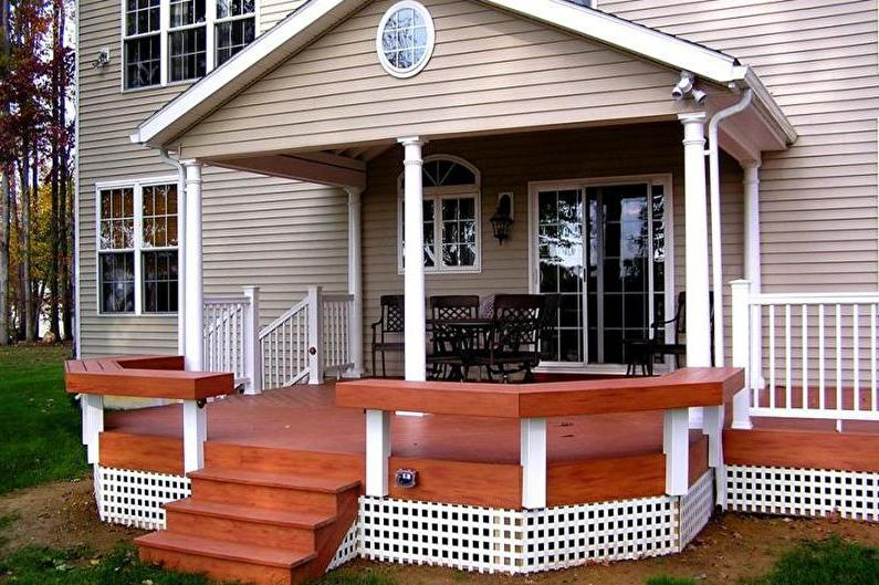 easy front porch ideas
