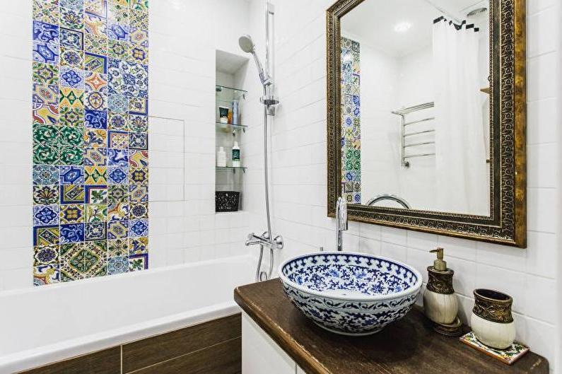 farmhouse chic bathroom vanity