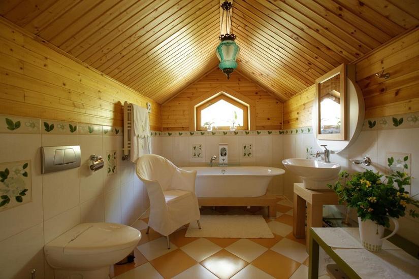 farmhouse cottage bathroom vanity