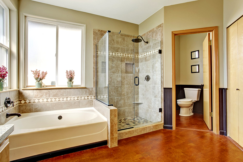 glass door for a shower decoration ideas