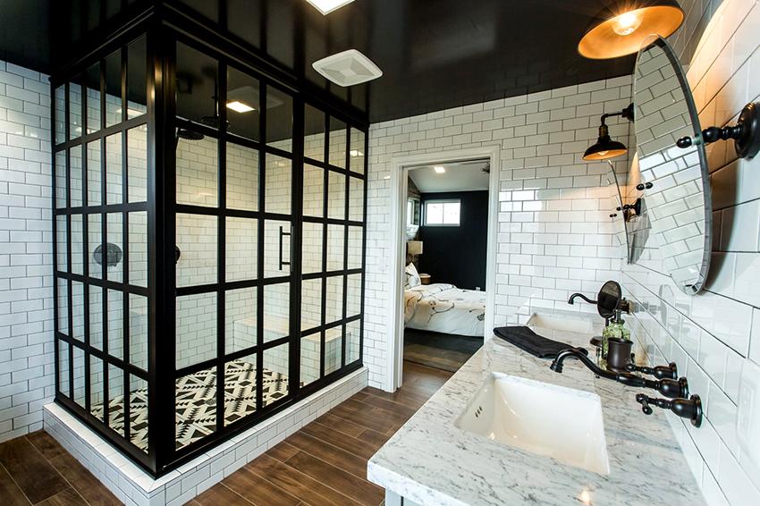 glass door for bath shower